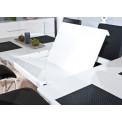 Table de salle a manger EDMONTON Blanche 160/200x90