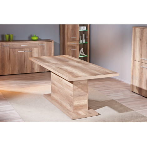 Table ABSOLUTO Chêne brut 160/200