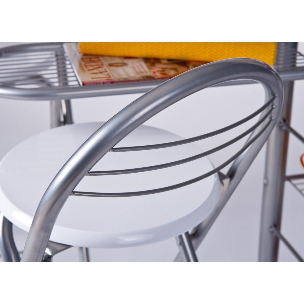 ensemble de cuisine table bar et chaises hautes frida. Black Bedroom Furniture Sets. Home Design Ideas