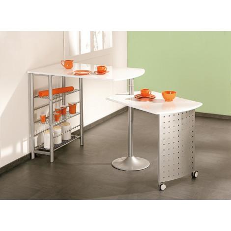 Ensemble de cuisine Table-Bar et chaises hautes FILAMENTO