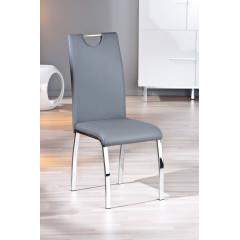 FAUSTINE chaise grise ( lot de 2)