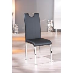 FAUSTINE chaise noire