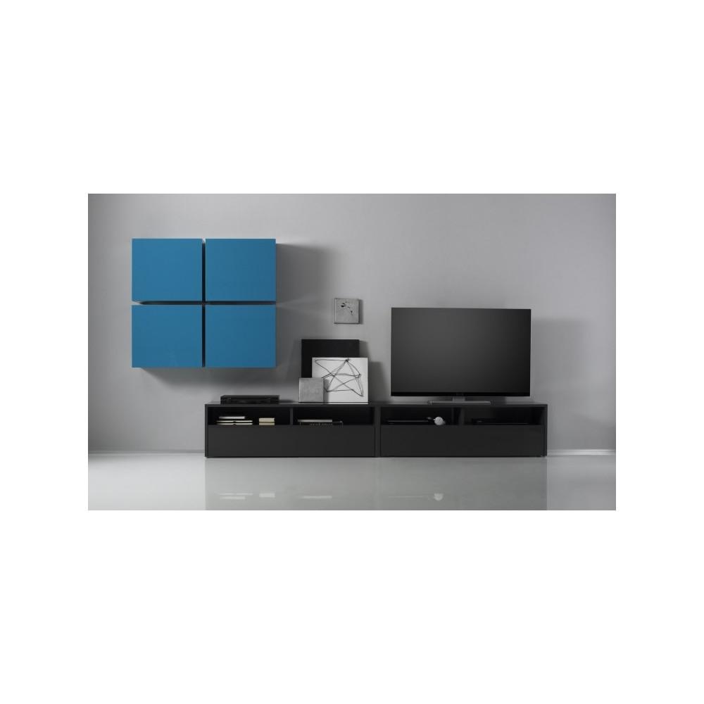 meuble tv design exist en 8 couleurs prix discount. Black Bedroom Furniture Sets. Home Design Ideas