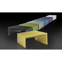 Table basse laque mutli coloris ROXY