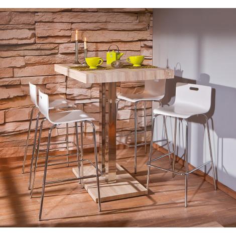 Table PALAZZI Chêne sonoma 120x80x110