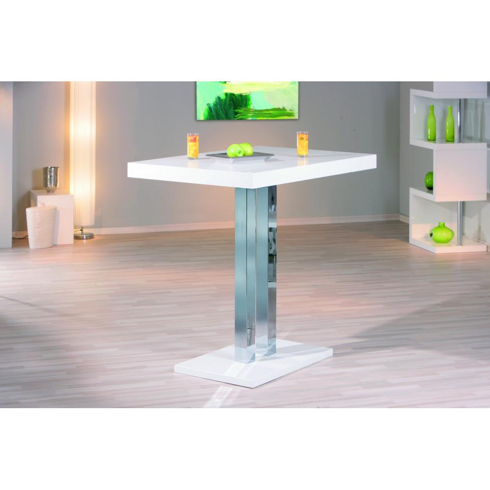 table de bar palazzi blanche 120x80x110. Black Bedroom Furniture Sets. Home Design Ideas