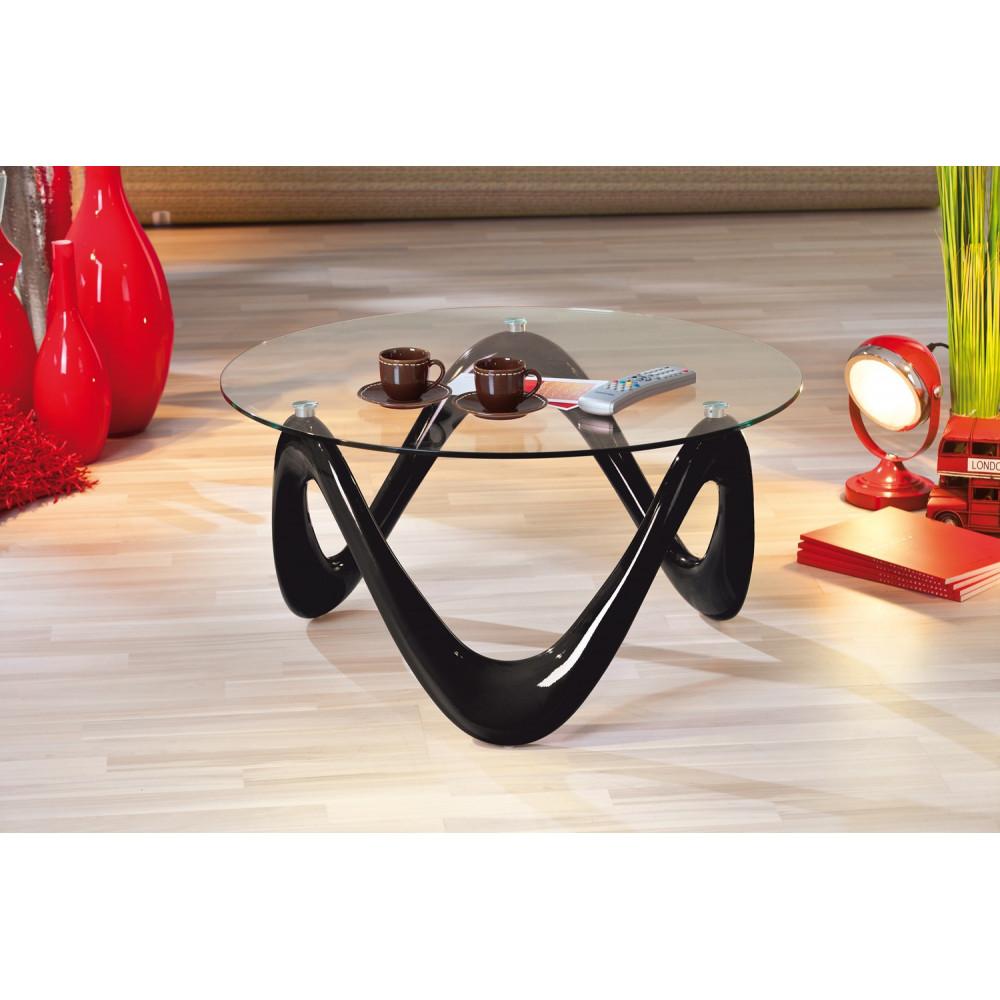 Table Basse Design De Salon Valentine Noire
