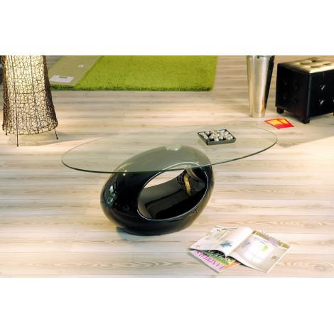 Table basse design de salon NIGRA Noire