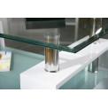 Table basse design de salon ALVA Blanche