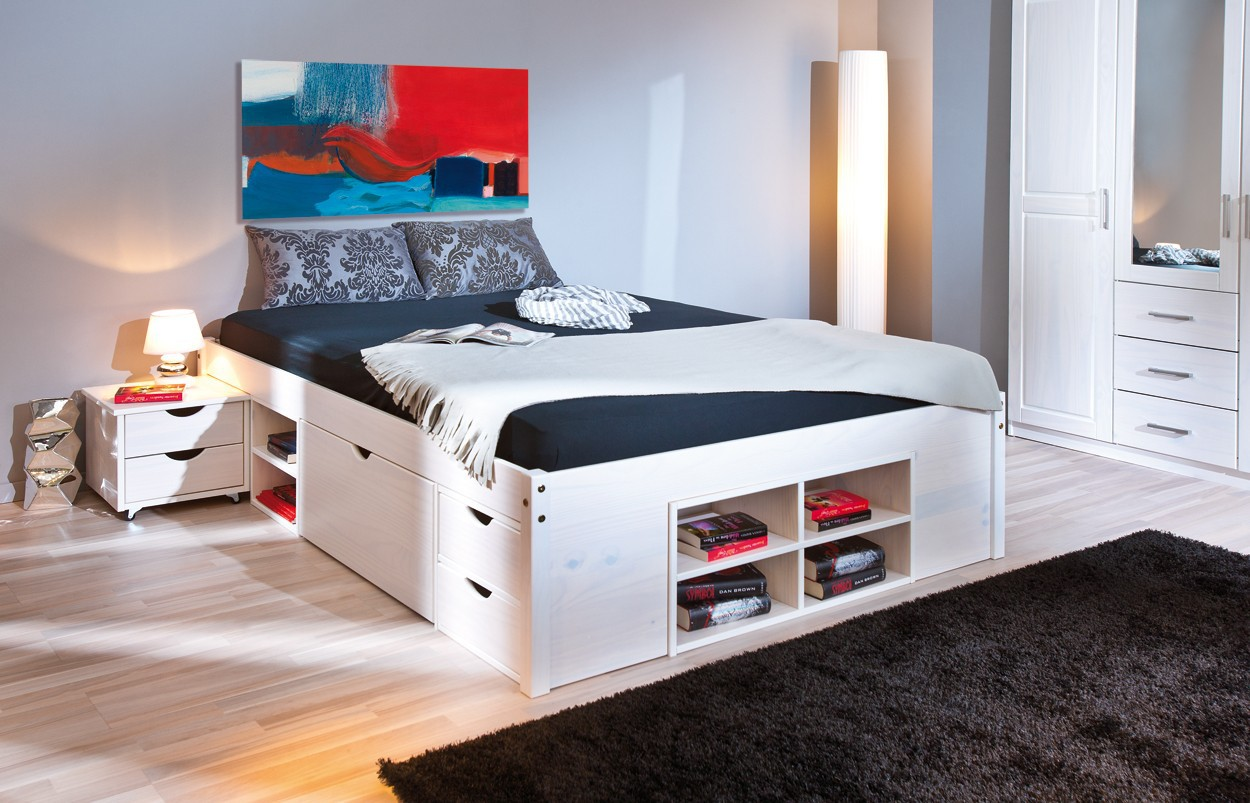 lit 120x190 avec tiroir maison design. Black Bedroom Furniture Sets. Home Design Ideas