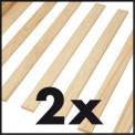 Lit meuble TILL 140x190/200 Pin massif blanc