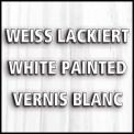 Lit meuble TILL 90x200 Pin massif blanc