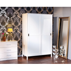 ARMOIRE MAFRA Blanche 2 Portes coulissantes