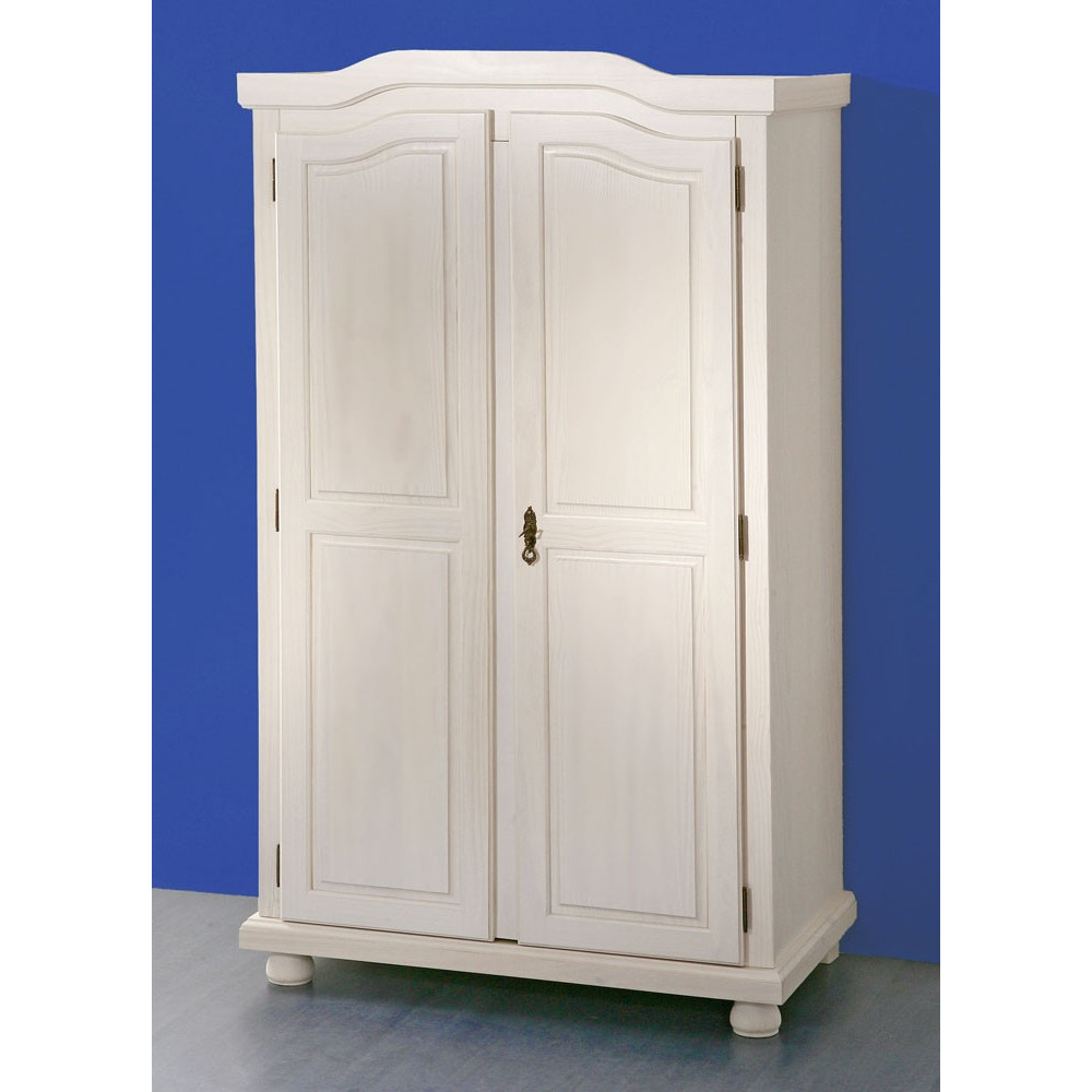 armoire hedda blanche 2 portes battantes. Black Bedroom Furniture Sets. Home Design Ideas