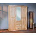 ARMOIRE CELSO Blanche 3 Portes + 3 Tiroirs
