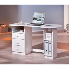 TOUCHY bureau en pin blanc