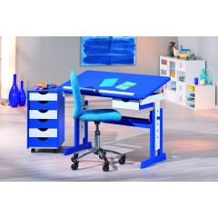 PASCAL bureau bleu réglable