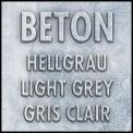 Bureau FLORUS148x60 Aspect Béton et blanc
