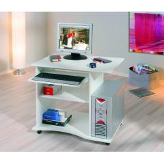 Bureau mobile 80x50 Blanc