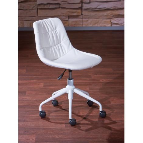 Chaise de bureau CYROS Blanche