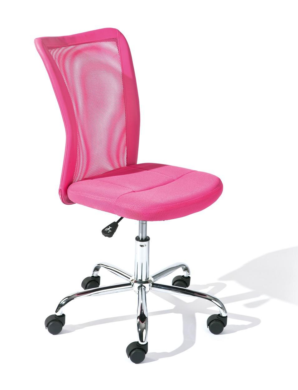 Fauteuil de bureau bonnie rose - Fauteuil de bureau rose ...