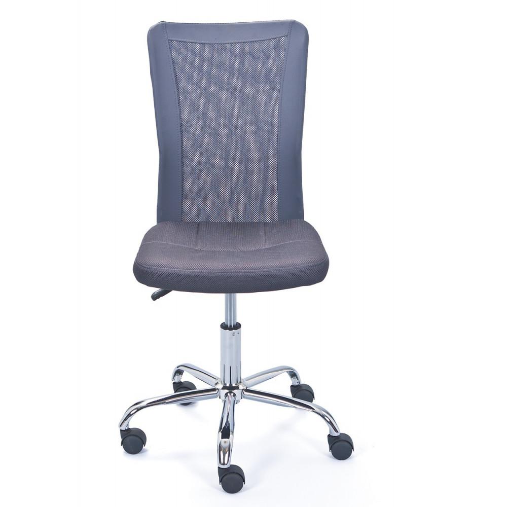 Fauteuil de bureau bonnie gris - Fauteuil de bureau gris ...