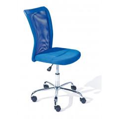 Fauteuil de bureau BONNIE Bleu
