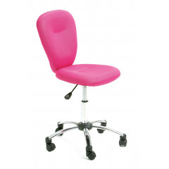 Chaise de bureau PEZZI Rose