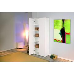 ARCAN armoire blanche deux portes