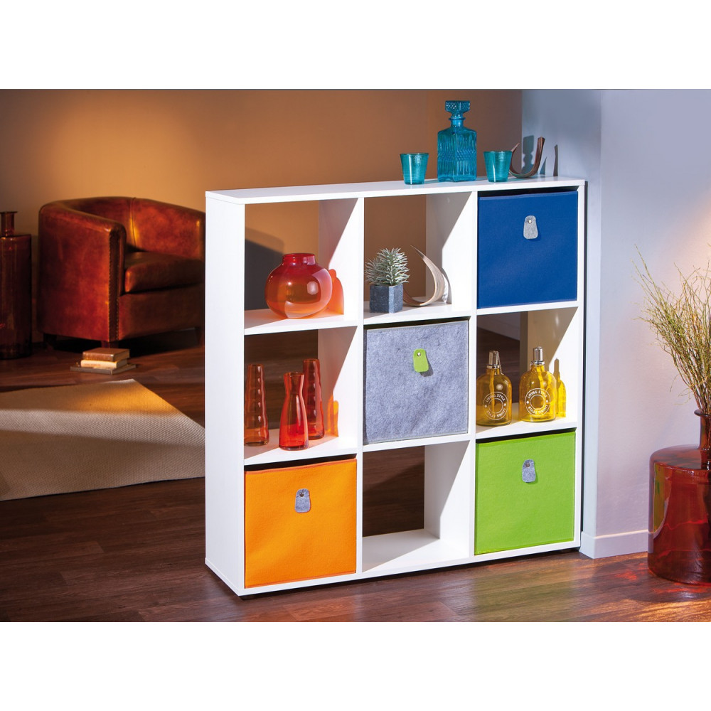 boite de rangement widdy 32x32. Black Bedroom Furniture Sets. Home Design Ideas