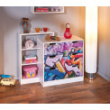 Commode moderne GRAFFITY 3 Tiroirs