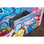 Commode BETON GRAFFITY 2 Portes 4 Tiroirs