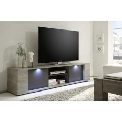 Meuble TV SYDNEY 2 Portes + 1 Niche