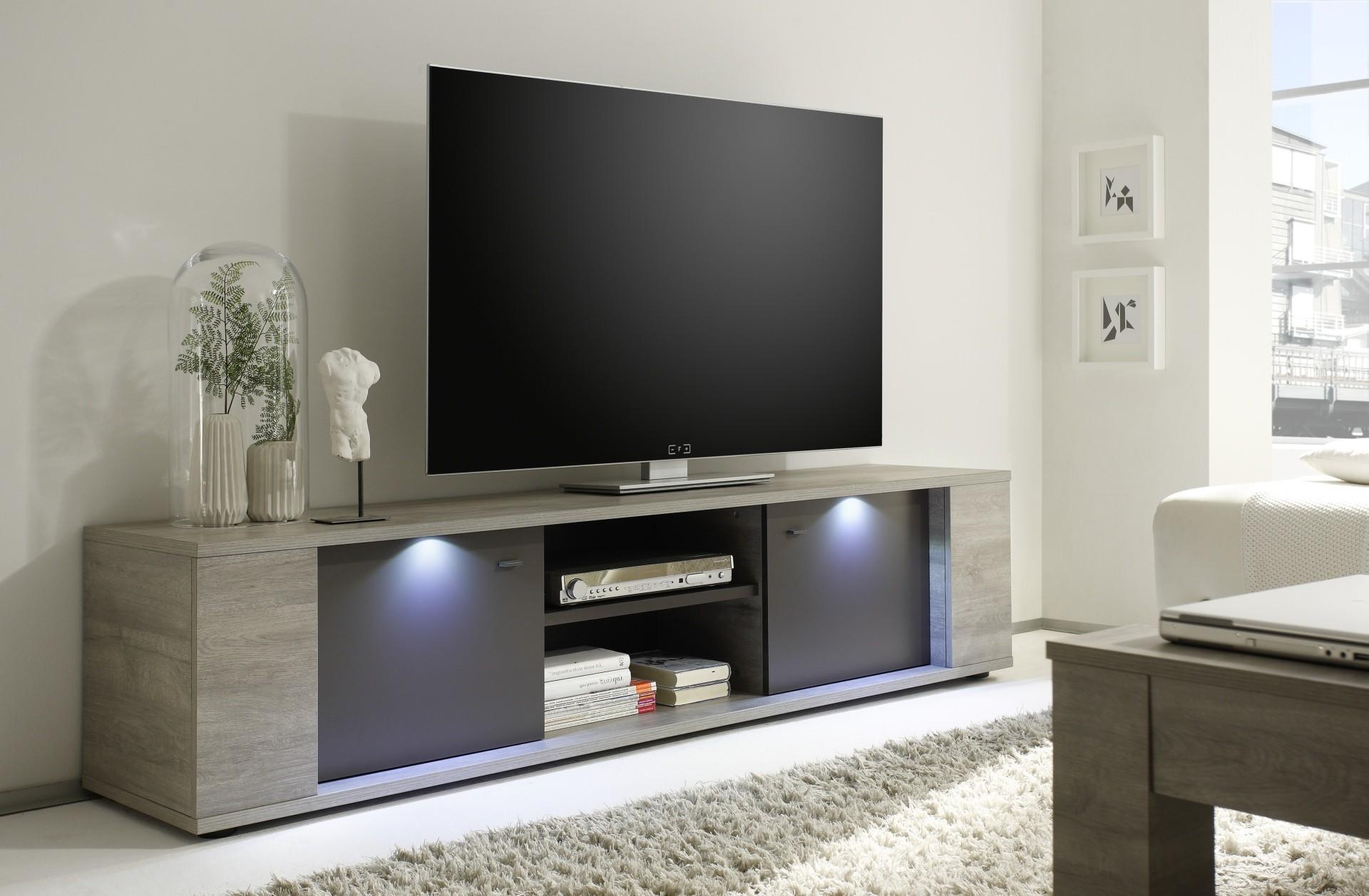 Mobili Per Tv Moderni: Illuminazione per salotto casanova porta tv ...