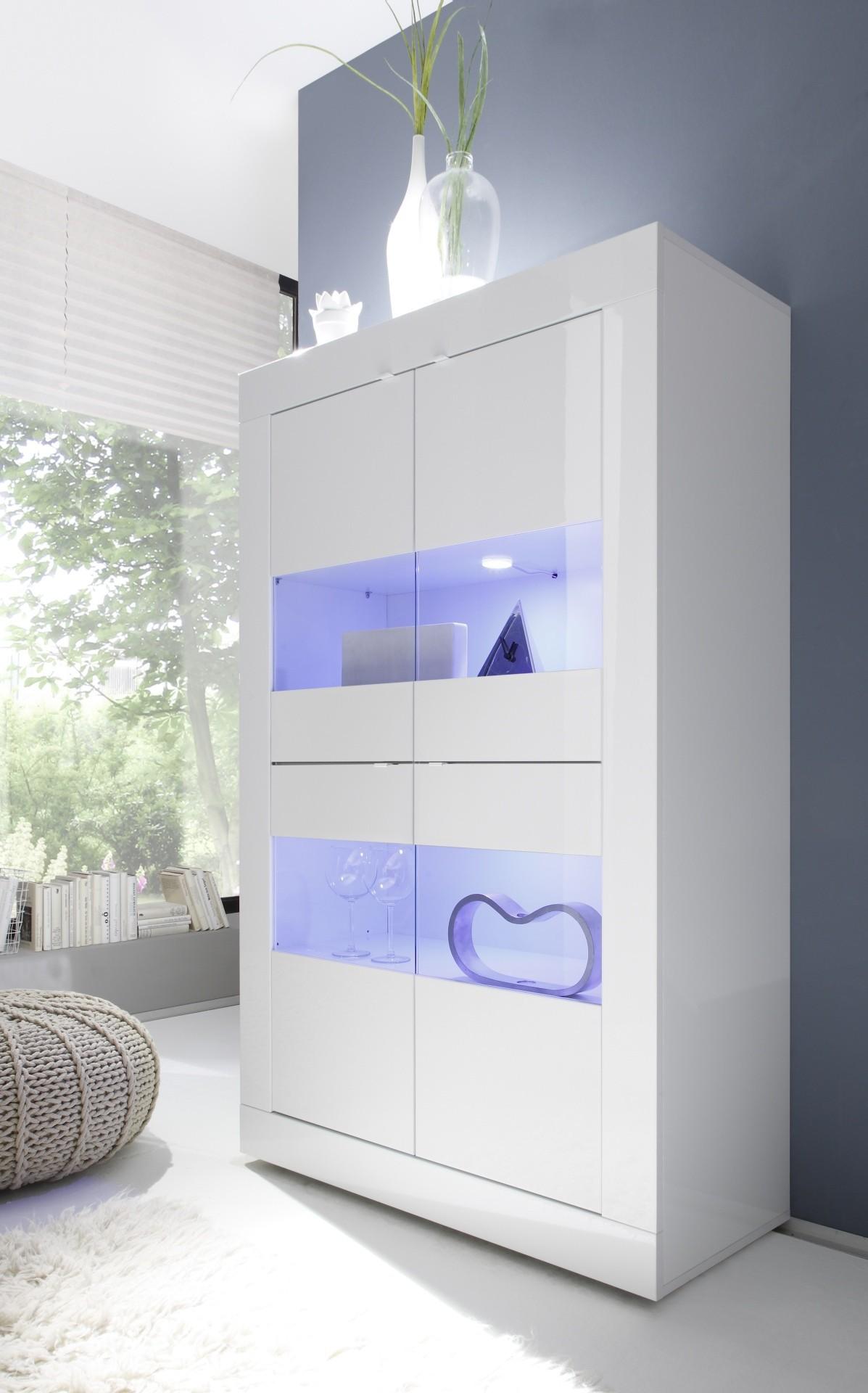 meuble bahut blanc laque maison design. Black Bedroom Furniture Sets. Home Design Ideas