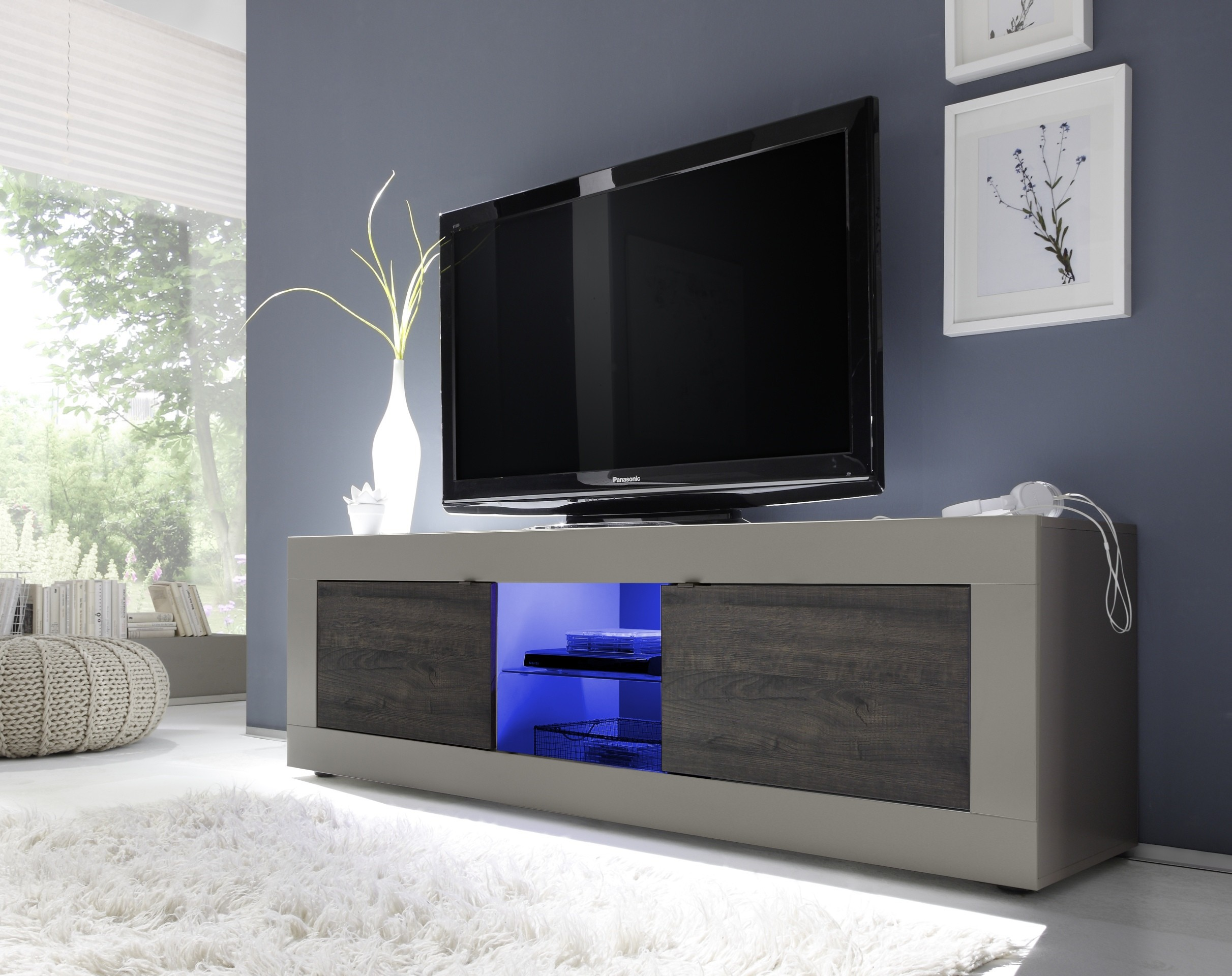 Meubles Tv Modernes Prix Discount Open Meubles # Meuble Tv Beige Blanc