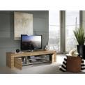 Meuble télévision MILANO 2 Portes + niche