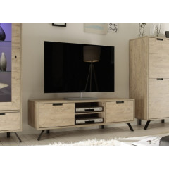 Meuble Télévision TOLEDE 2 Portes + 1 niche