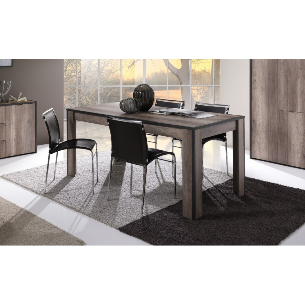 table de salle manger tim ch ne san r mo. Black Bedroom Furniture Sets. Home Design Ideas