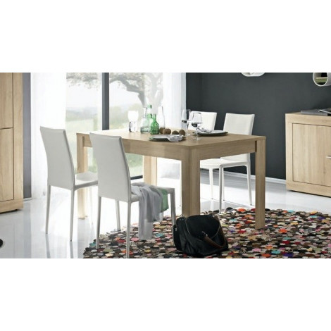 table de salle a manger moderne chene clair diff rentes dimensions rus. Black Bedroom Furniture Sets. Home Design Ideas