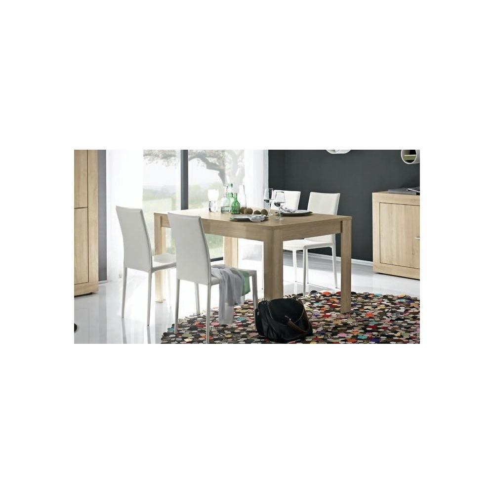 Table En Chene Clair : Table de salle a manger moderne chene clair différentes