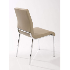 Lot de 2 chaises KIM Beiges