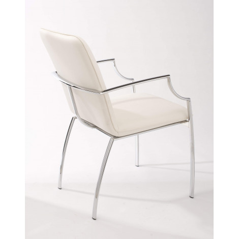 Lot de 2 Fauteuils BOSTON Blancs
