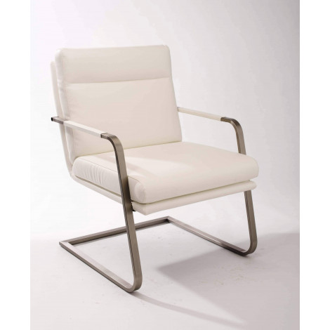 Lot de 2 Fauteuils MANGO Blancs