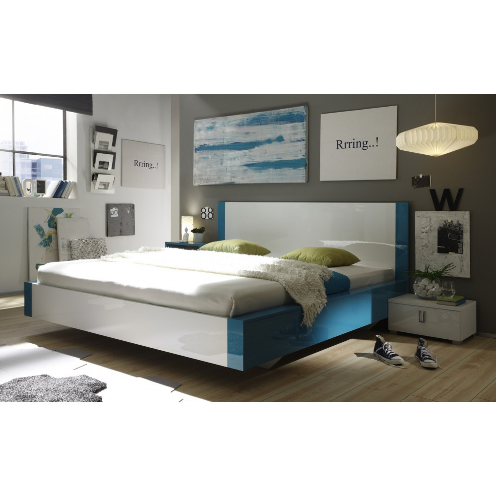 lit moderne 180x200 prix exceptionnel 8 couleurs. Black Bedroom Furniture Sets. Home Design Ideas