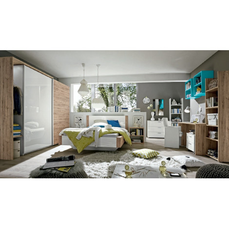 lit design lin a bois san r mo 180x200 prix exceptionnel 8 couleurs. Black Bedroom Furniture Sets. Home Design Ideas