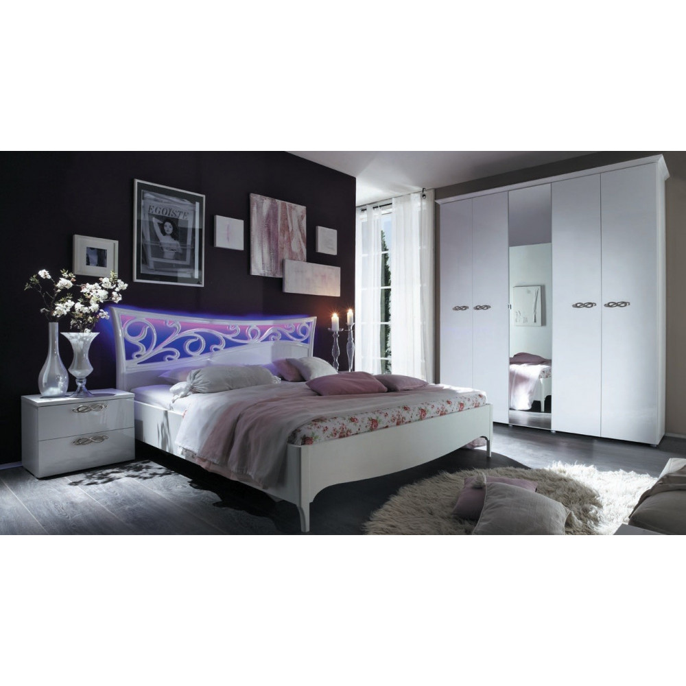 lit desing ambrosia dim 160x200 prix exceptionnel. Black Bedroom Furniture Sets. Home Design Ideas