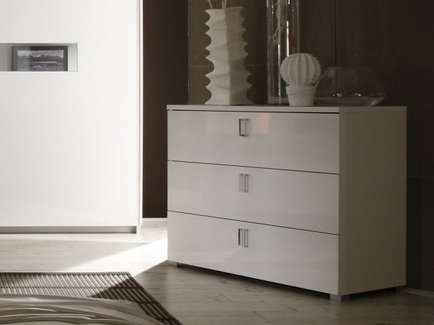 commode 3 tiroirs moderne open meubles. Black Bedroom Furniture Sets. Home Design Ideas
