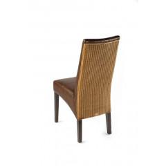 ANAIS chaise tressage caramel