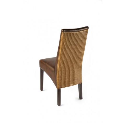 chaise tissée anais